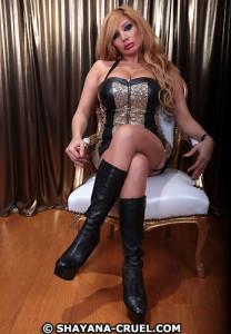 Besuche Fetisch Lady Shayana Cruel in Köln